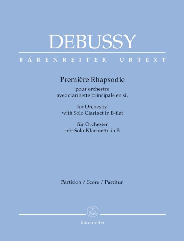 Barenreiter - Debussy Premiere Rhapsodie