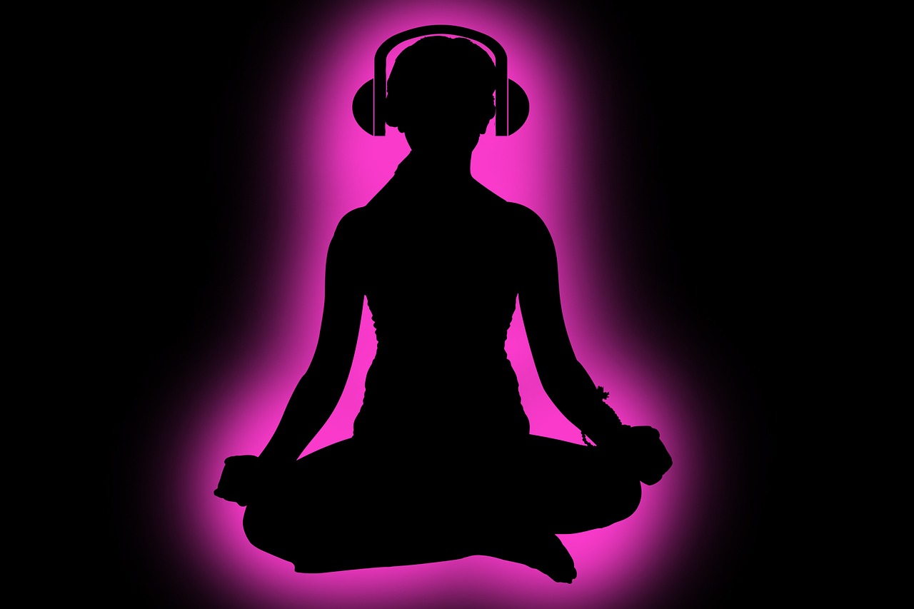 Calming music de-stress