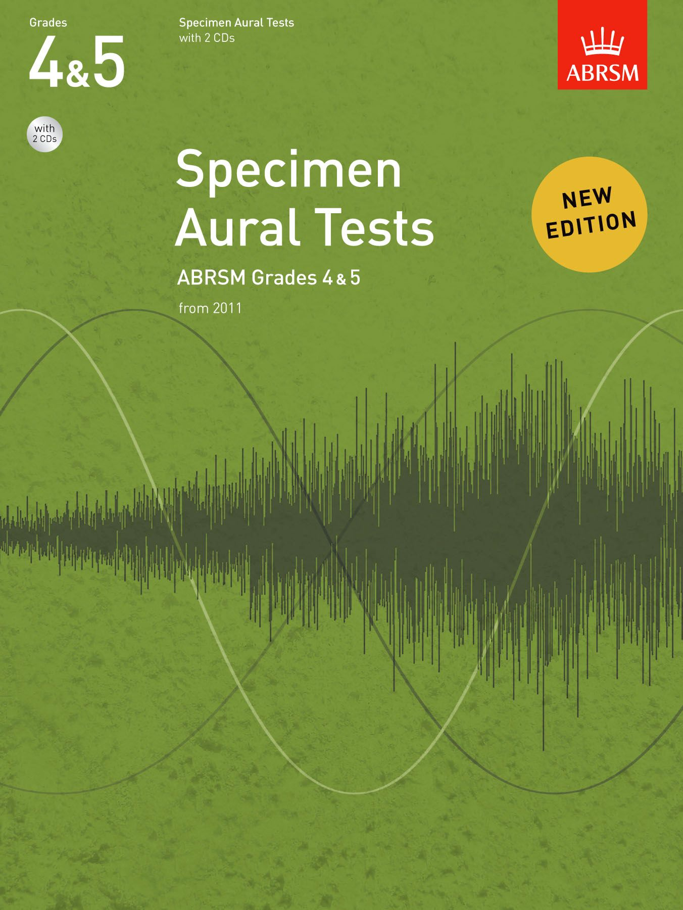 ABRSM Specimen Aural Tests Grades 4-5 with CD