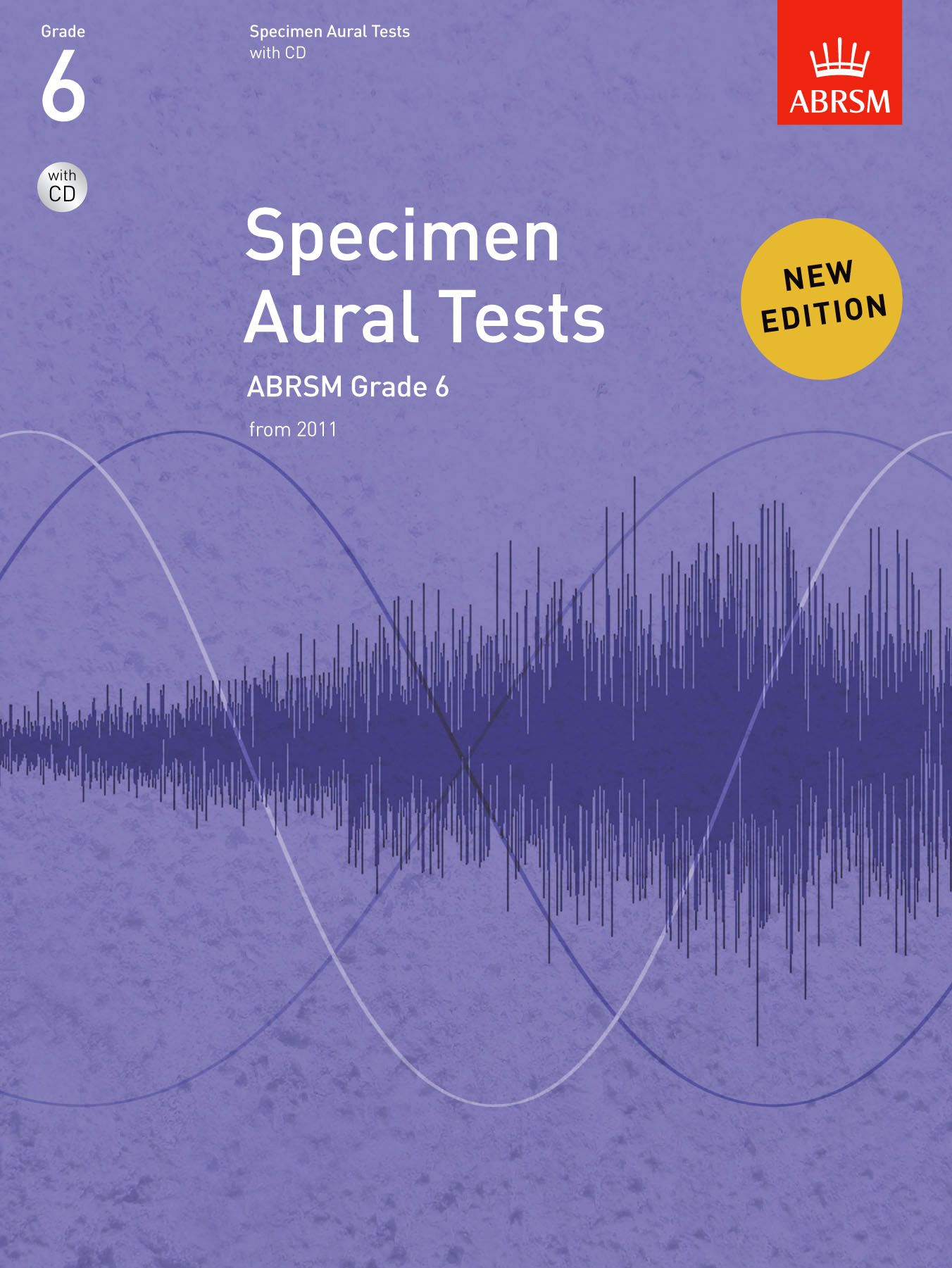 ABRSM Specimen Aural Tests Grade 6 with CD