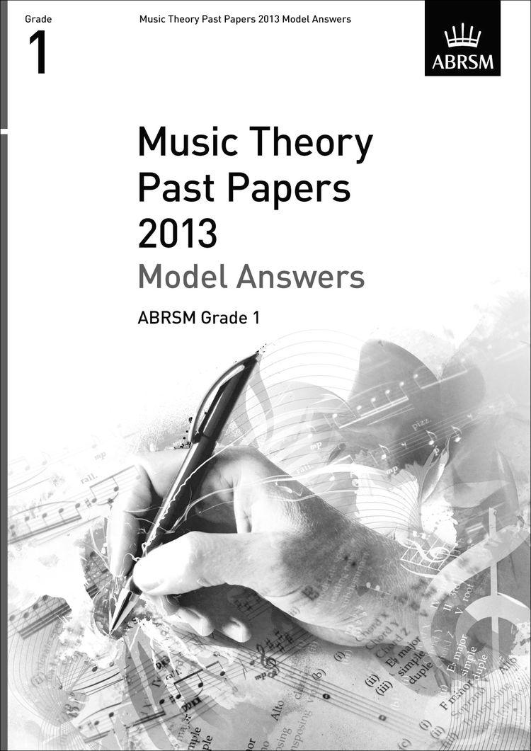 ABRSM Music Theory Model Answers Grade 1 (2013)