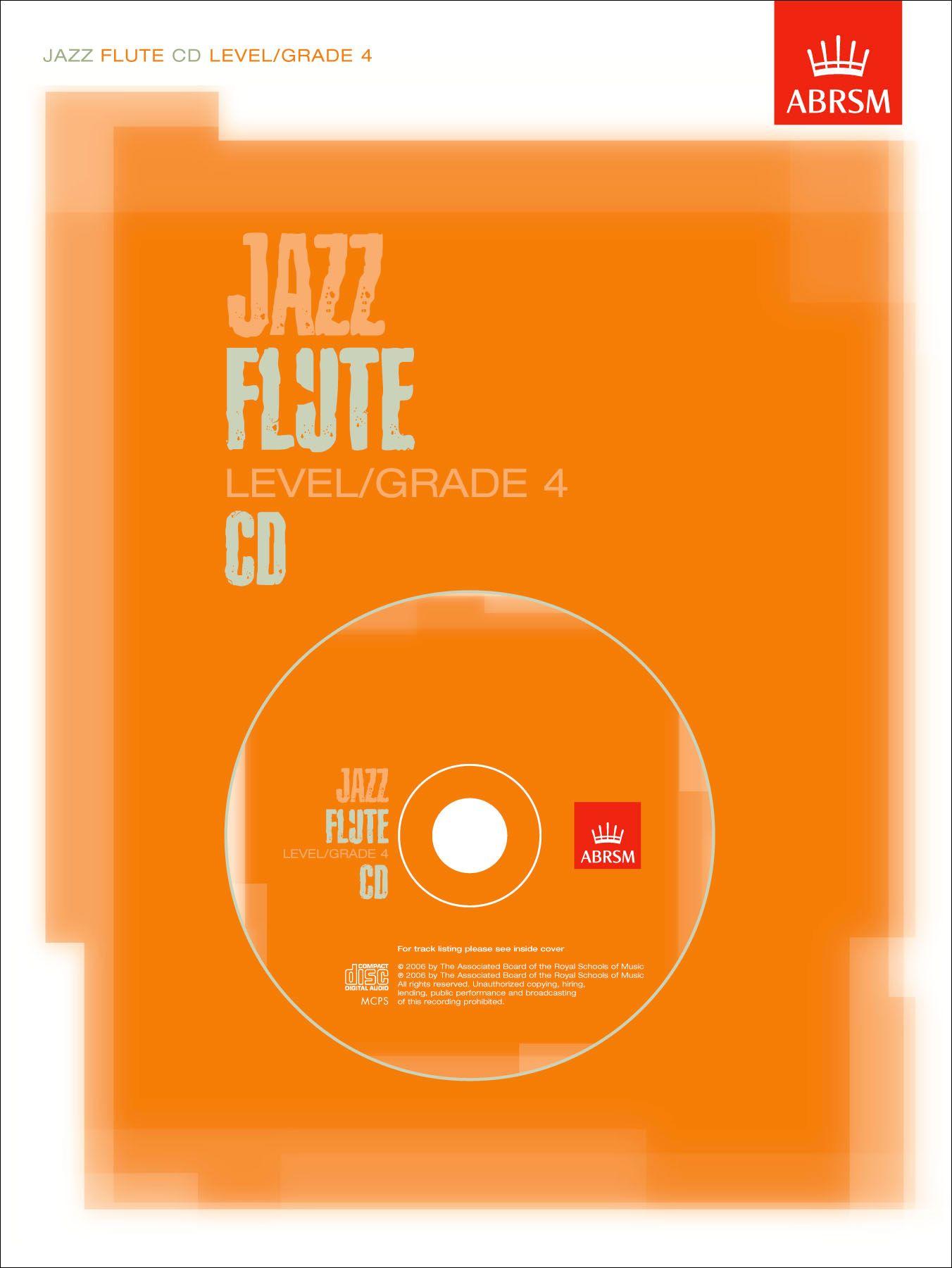 ABRSM Jazz Flute CD Level / Grade 4