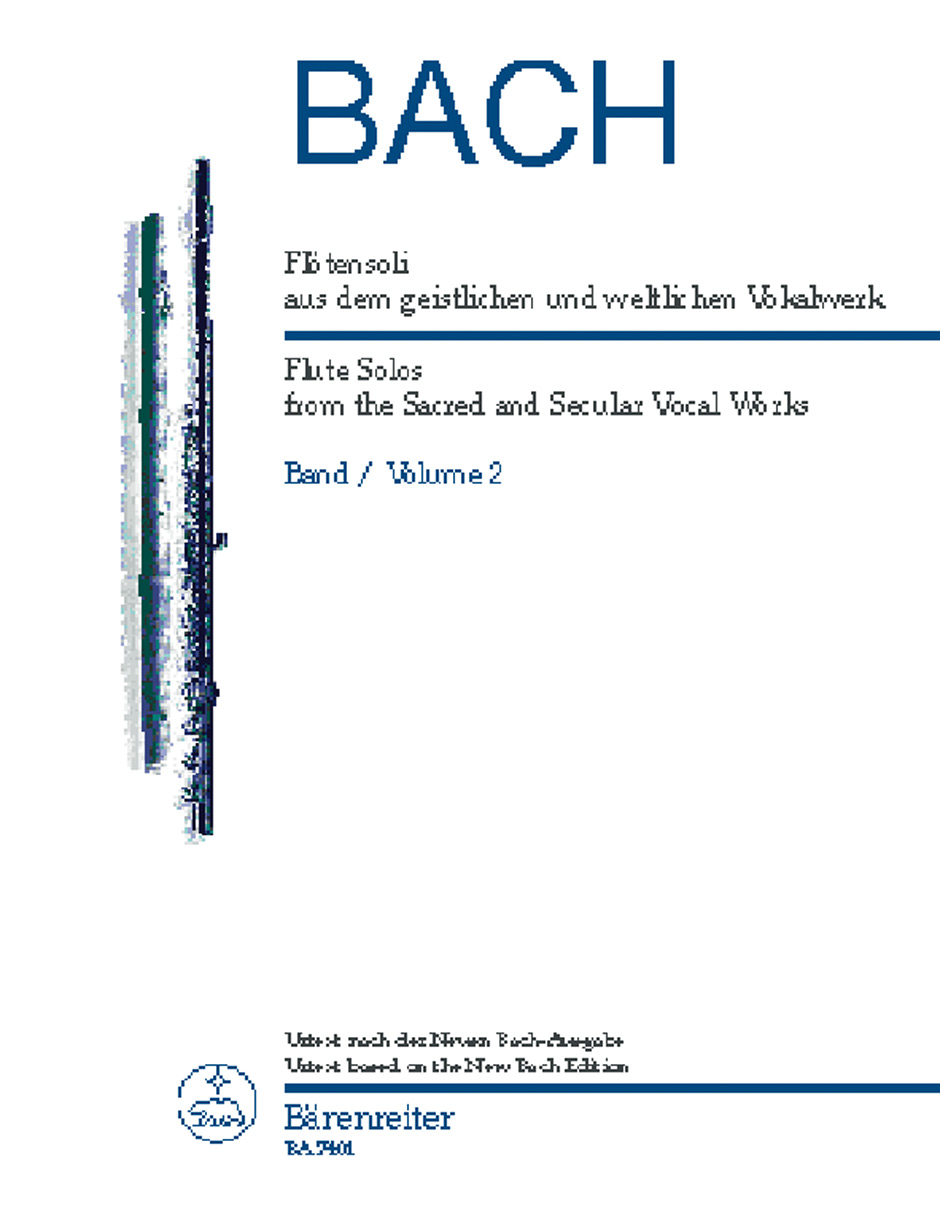 Flute Solos from the Sacred and Secular Vocal Works Vol.2 (Urtext).