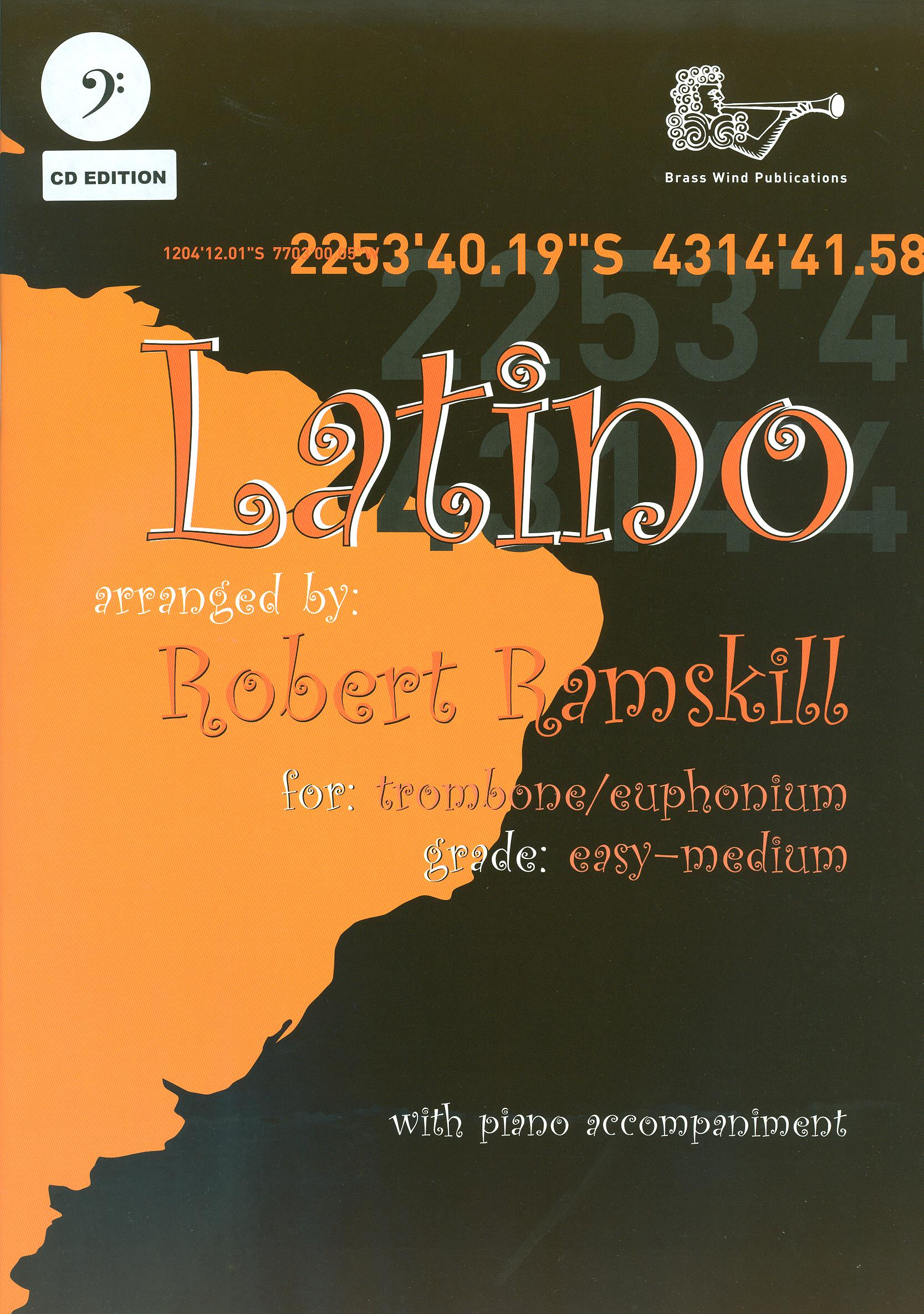 Latino for Trombone/Euphonium (Bass Clef) with CD