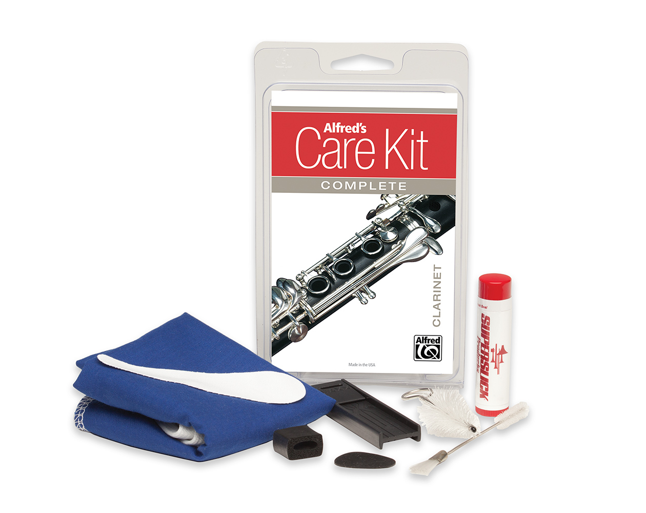 Alfred's Care Kit Complete Clarinet