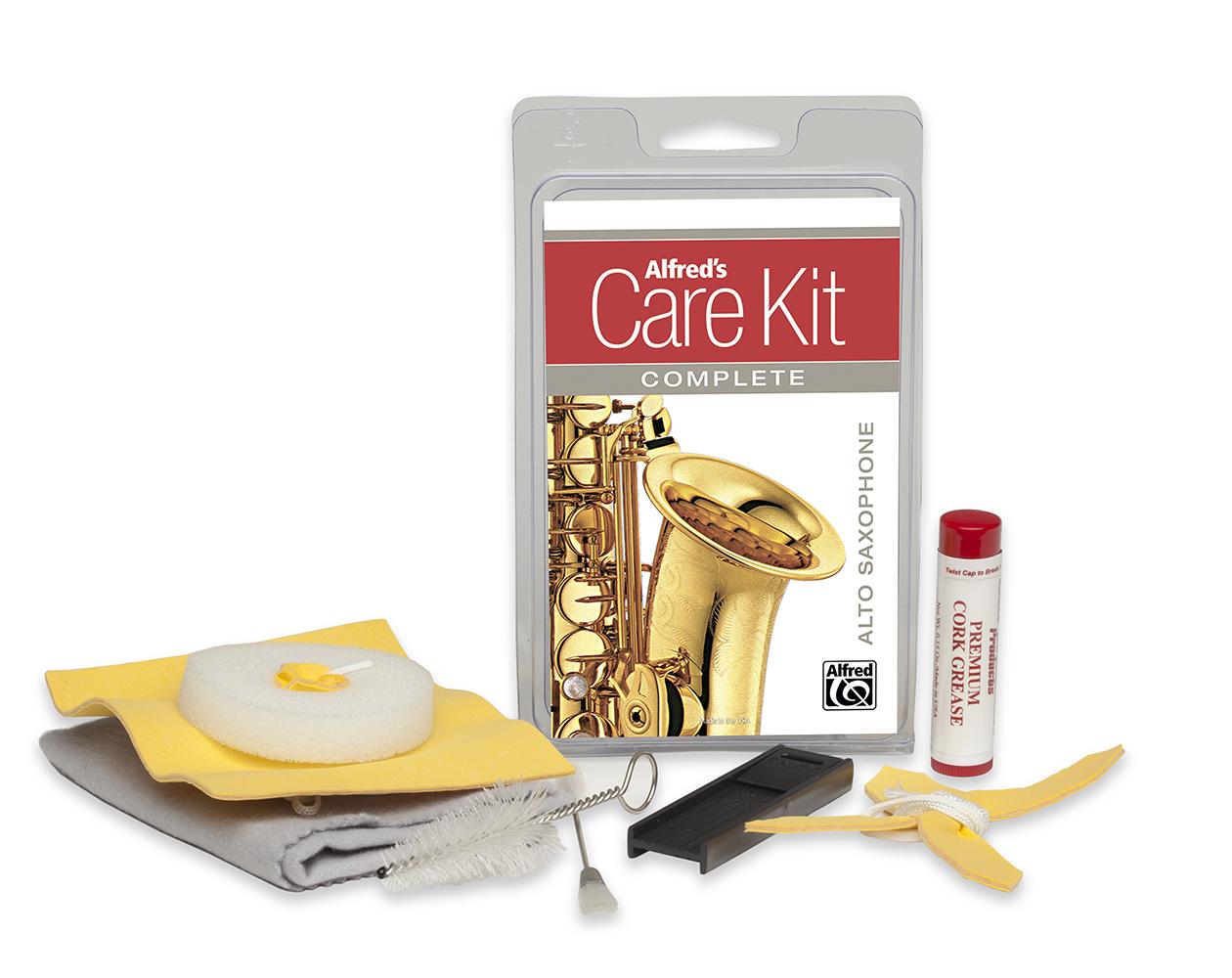 Alfred's Care Kit Complete Alto Sax