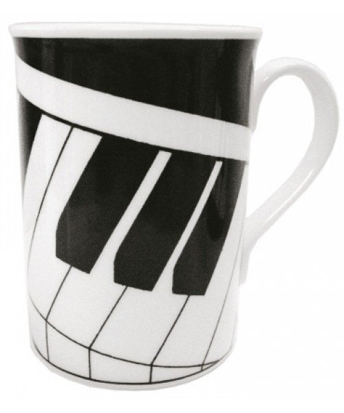 2D Keyboard Mug (Bone China)