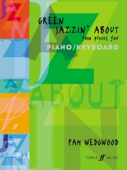 Green Jazzin' About Piano