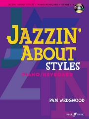 Jazzin' About Styles Piano