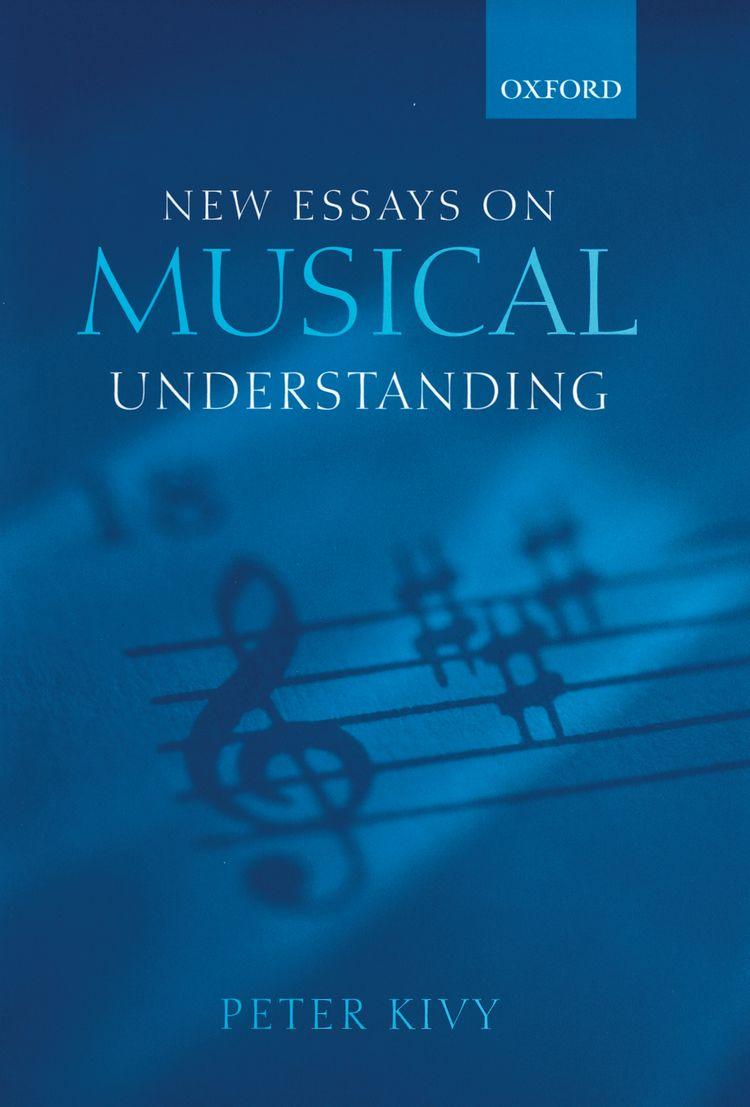 New Essays on Musical Understanding