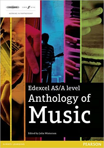 Edexcel AS/A Level Anthology of Music - for use from September 2016