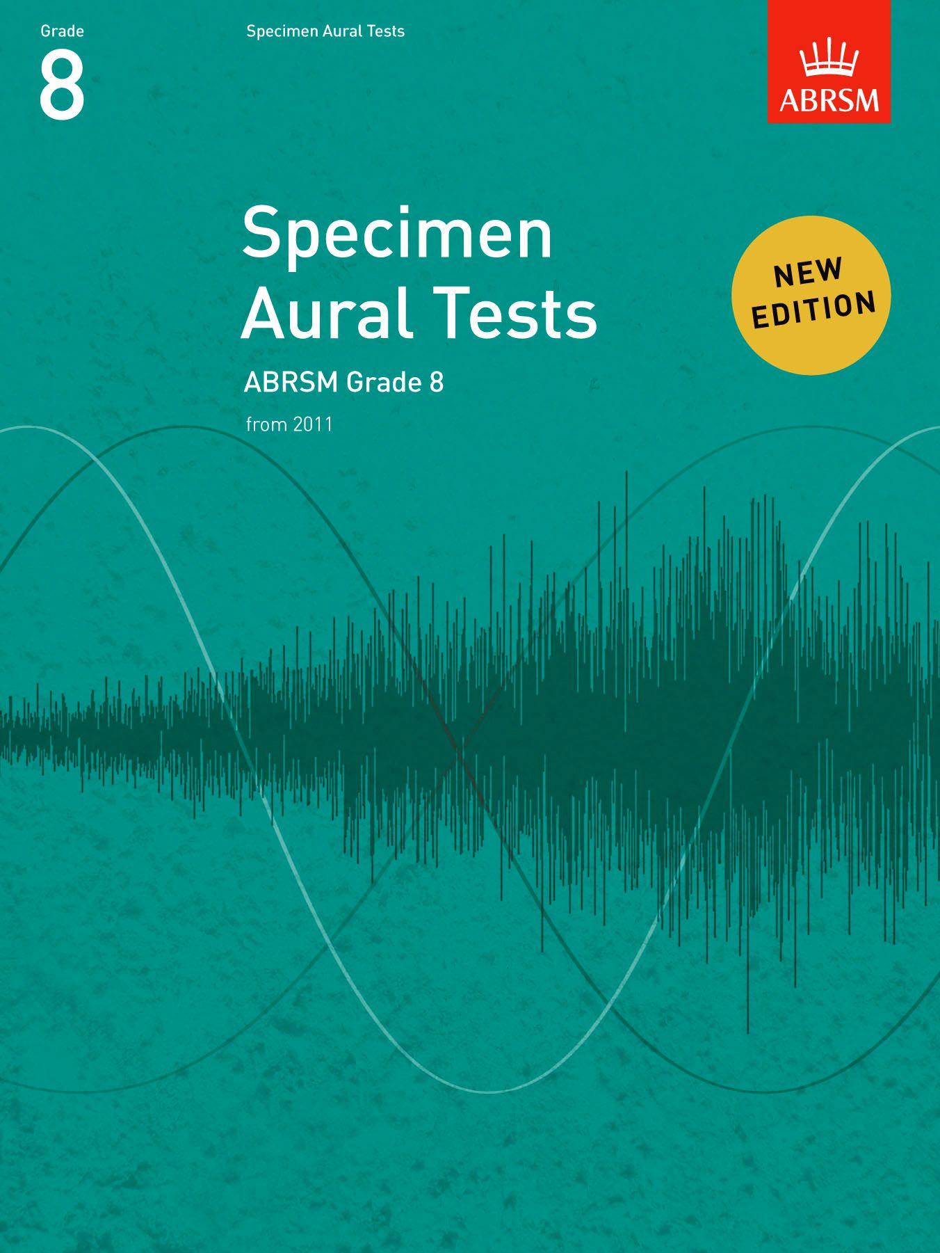 ABRSM Specimen Aural Tests Grade 8