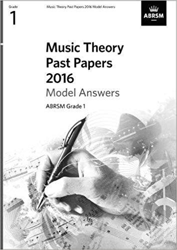 ABRSM Music Theory Model Answers Grade 1 (2016)
