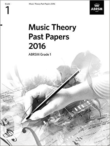 ABRSM Music Theory Past Papers Grade 1 (2016)