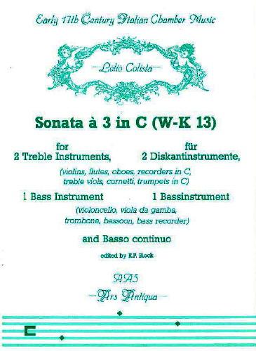 Sonata a 3 in C (WK 13)