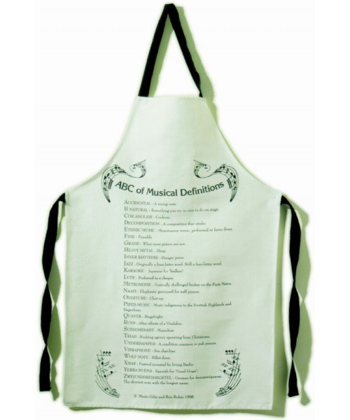 ABC Music Definitions Apron