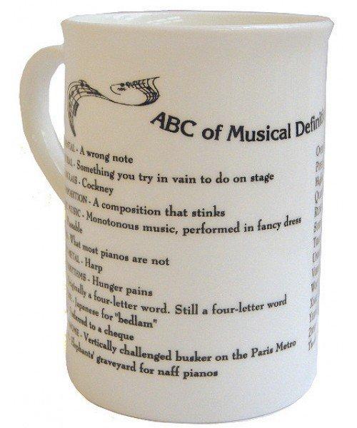 ABC Music Definitions Mug (Bone China)
