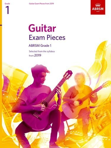 ABRSM Guitar Exam Pieces Grade 1 from 2019 Book
