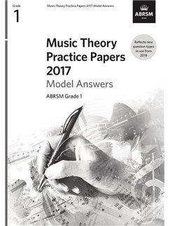 ABRSM Music Theory Model Answers Grade 1 (2017)
