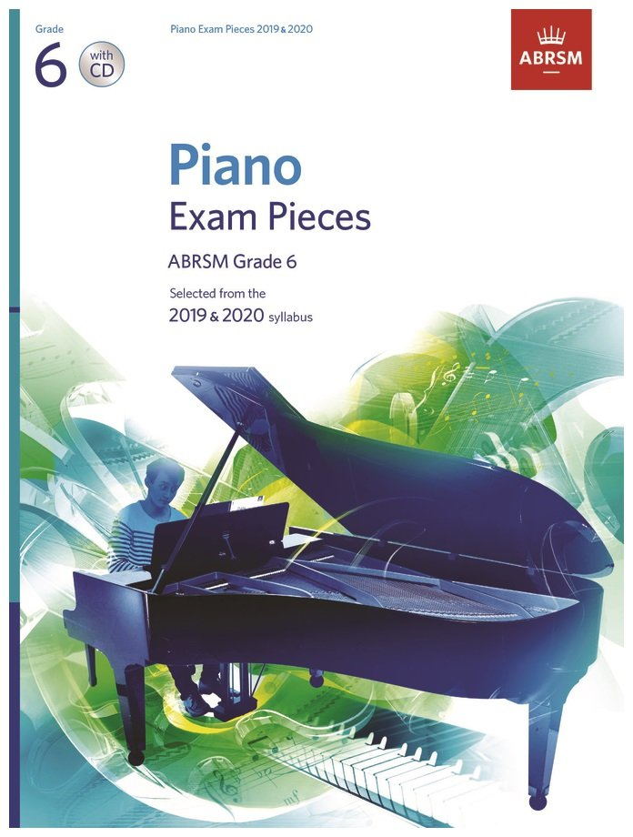 AB Piano syllabus G6 with CD