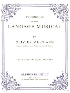 Technique de mon Langage Musical