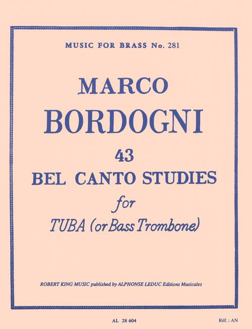 Exercises for bass trombone or tuba players