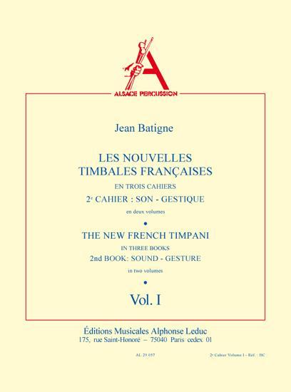 The New French Timpani Book 2, Vol.1