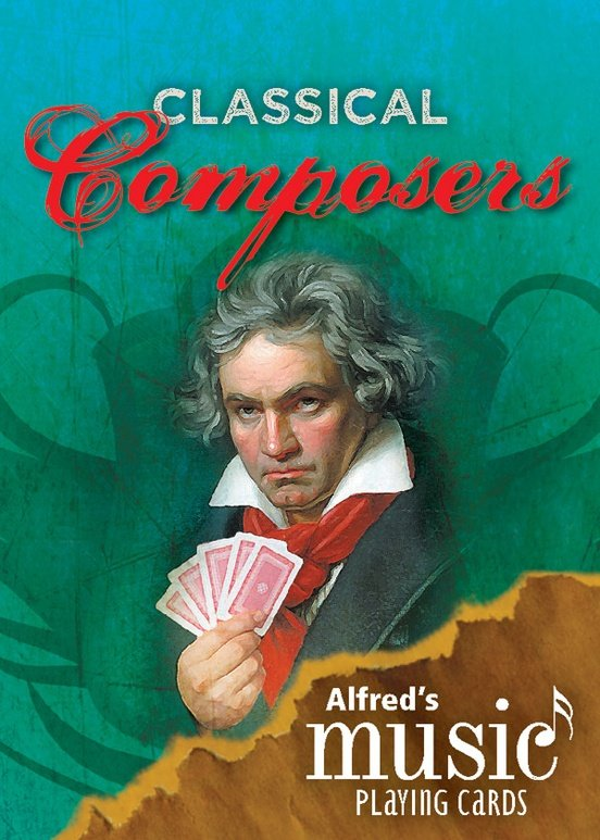 Playing Cards: Classical Composers