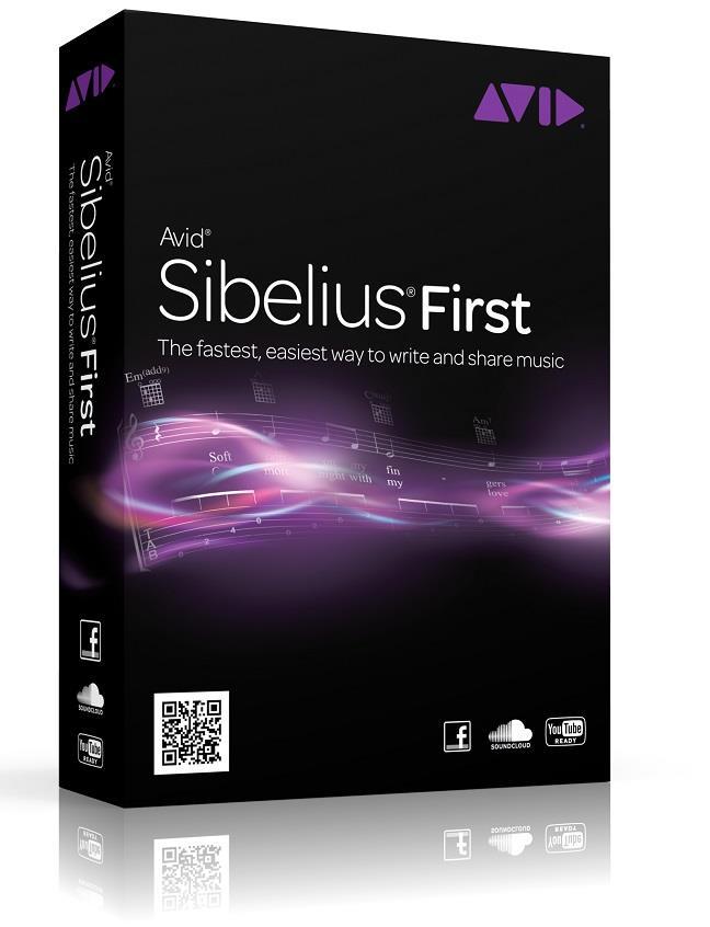 AVID SIBELIUS FIRST SOFTWARE