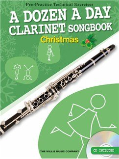 15 Christmas carols arranged for Clarinet