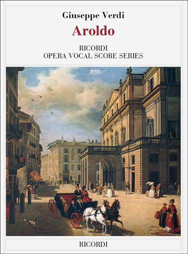 Aroldo - Vocal Score (Italian)
