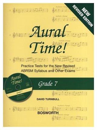 Aural Time! - Grade 7 Book/CD (ABRSM Syllabus From 2011)