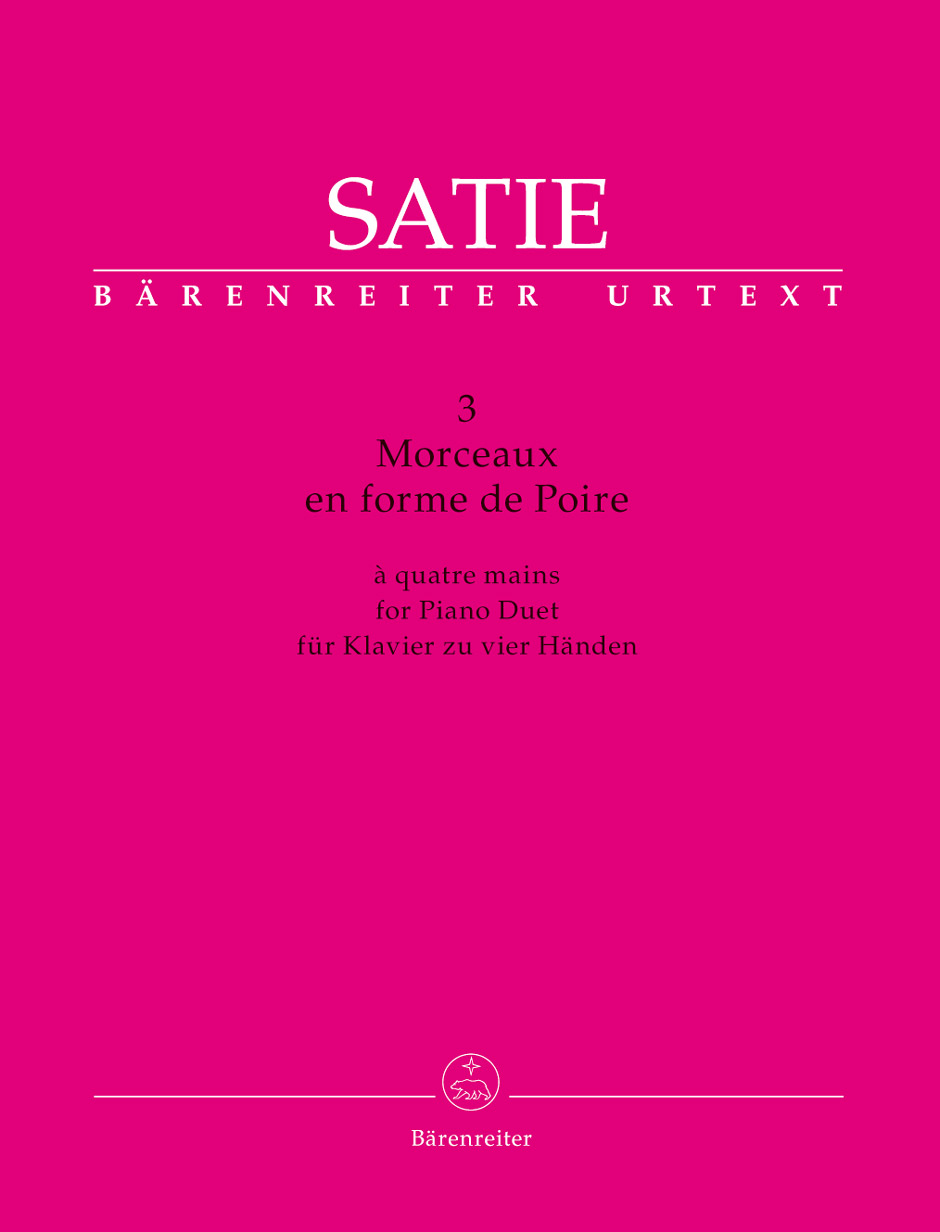 Barenreiter Urtext performance edition of Satie's cycle for piano duet