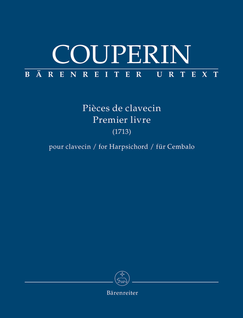 Barenreiter Urtext performance edition of the first book of Couperin's Pieces de clavecin, for harpsichord