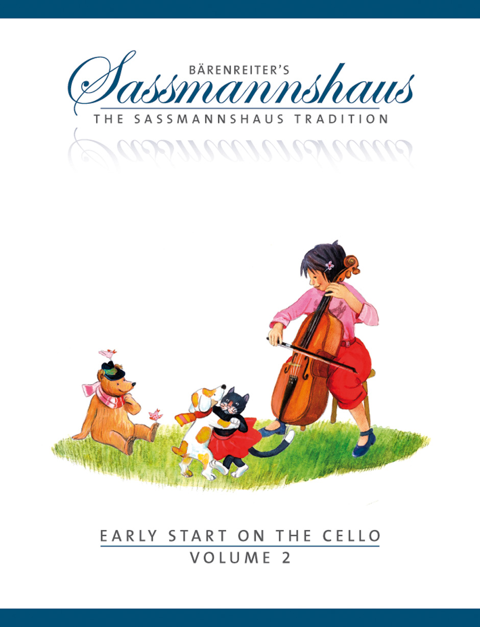 Sassmanshaus: Early Start on the Cello, Volume 2