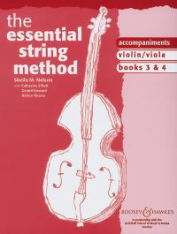 Essential String Method Vol 3 and 4 Piano Accompaniment for Cello/Double Bass