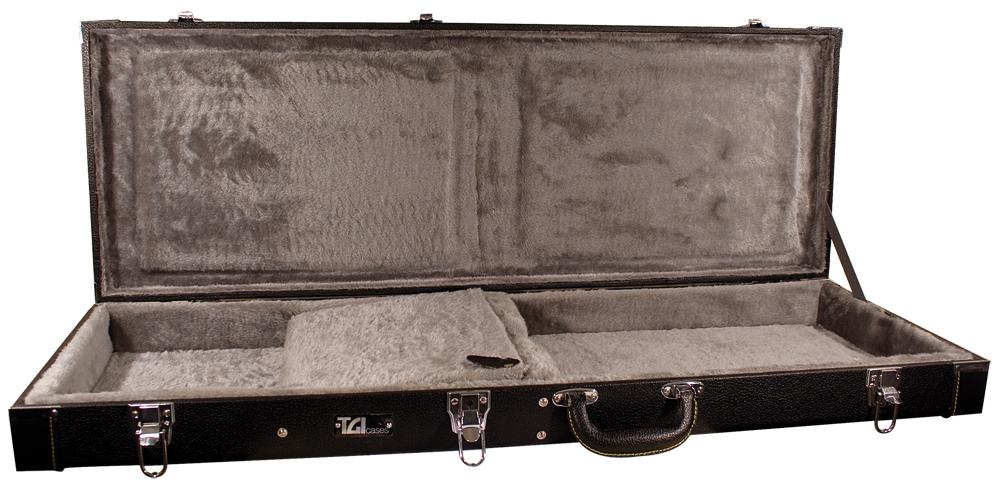 TGI Case Wood Electric Guitar