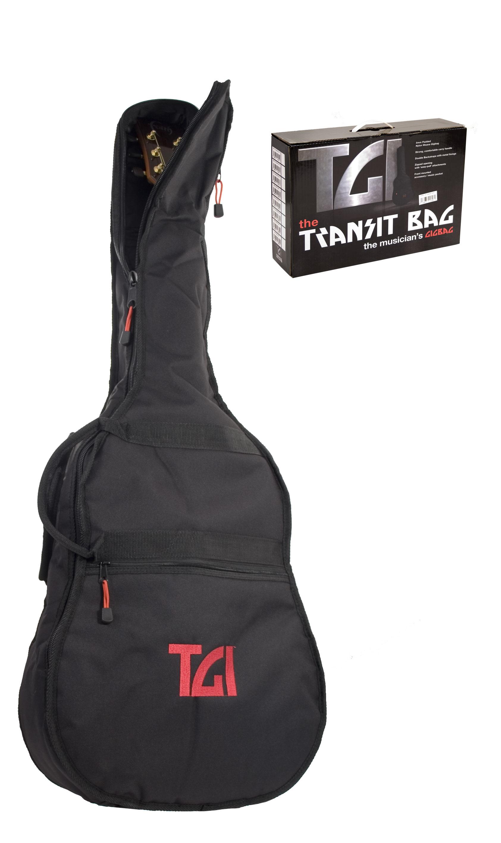 TGI Deluxe Padded Gigbag for Bass Guitar Guitar Case Gig Bag