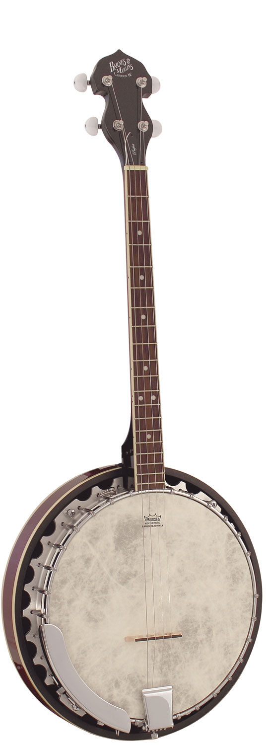 Barnes and Mullins Banjo Perfect 4 String Banjo