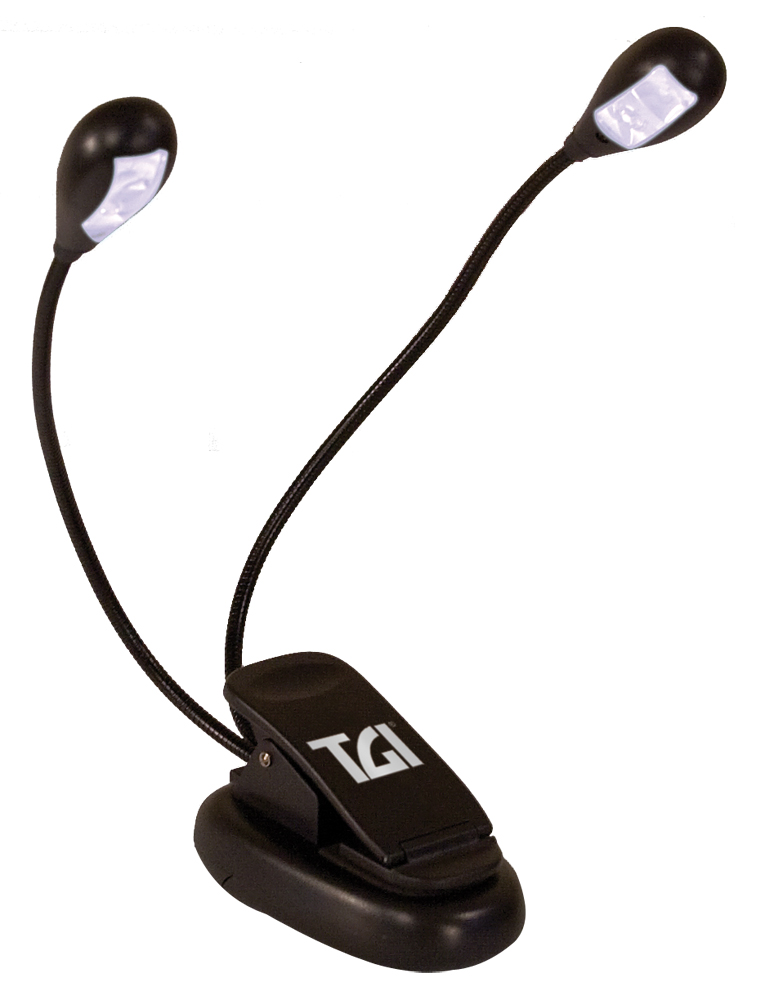 TGI Music Stand Dual Lamp