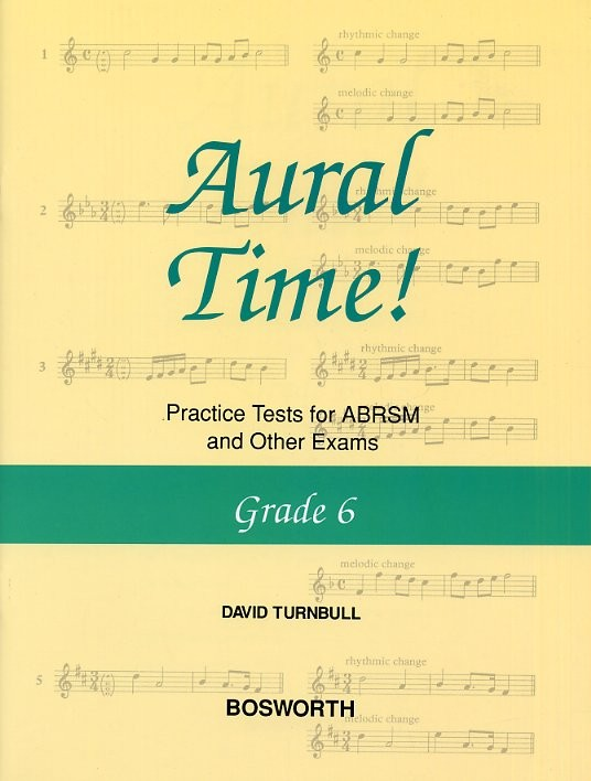 Aural Time! Practice Tests - Grade 6