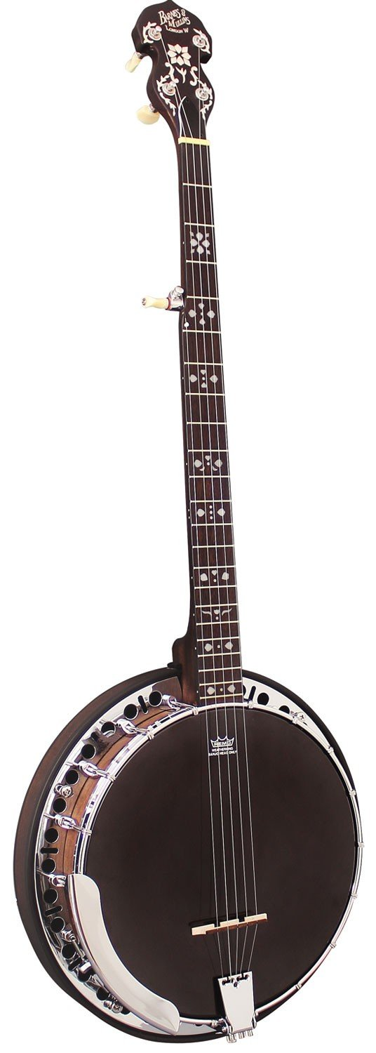 Barnes and Mullins Banjo 5 String Electro. Rathbone Model