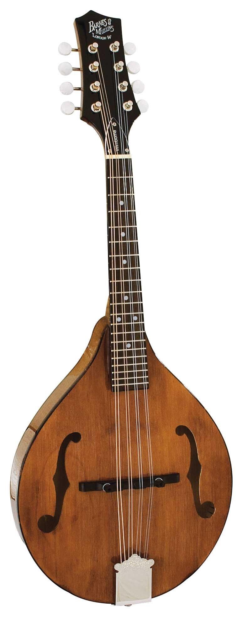 Barnes and Mullins Mandolin - Wimborne Model Electro