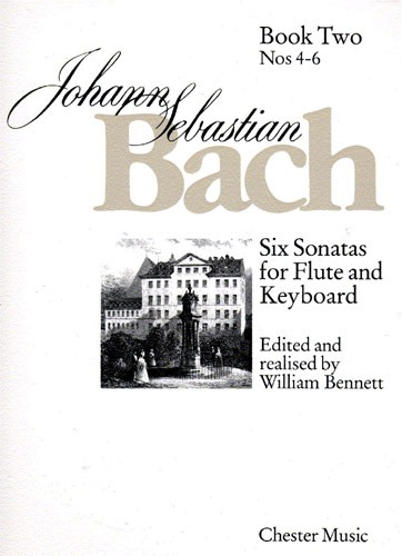 Six Sonatas For Flute And Keyboard Book Two Nos. 4-6