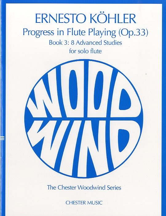 Progress In Flute Playing Op.33 Book 3