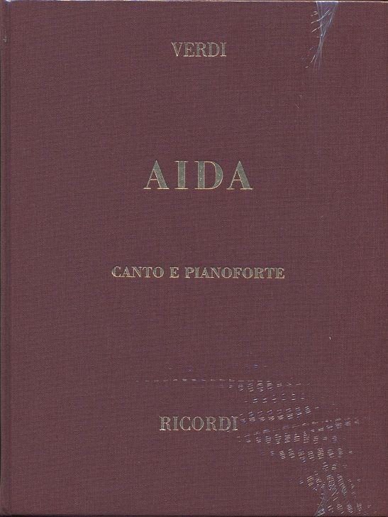 Aida - Hardback Vocal Score (Italian)