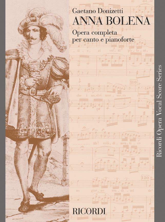 Anna Bolena - Vocal Score (Italian)