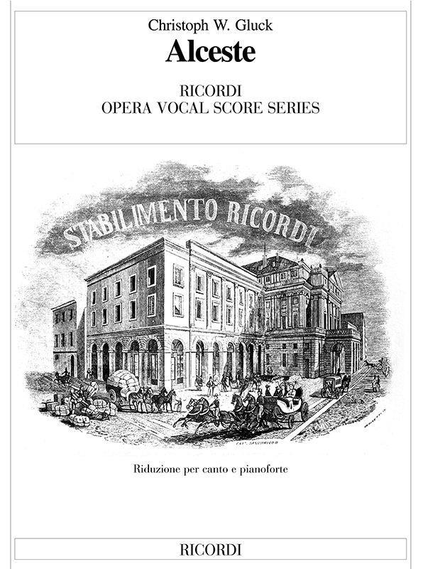 Alceste - Vocal Score (Italian)