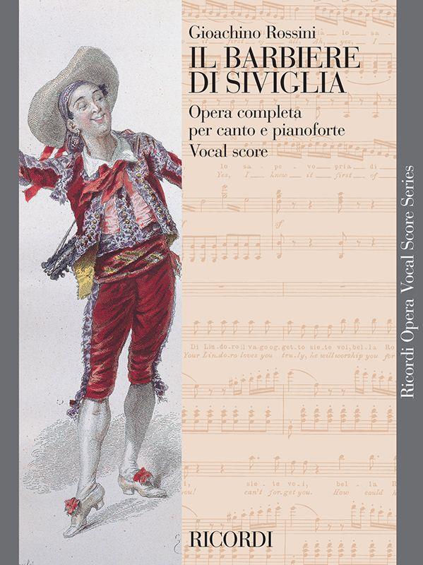 Barbiere Di Siviglia - Vocal Score