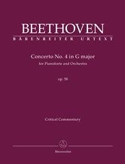 Concerto for Pianoforte and Orchestra no. 4 G major op. 58